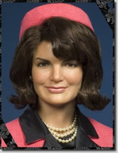 Jackie Kennedy could have stored her cell phone in her hat.